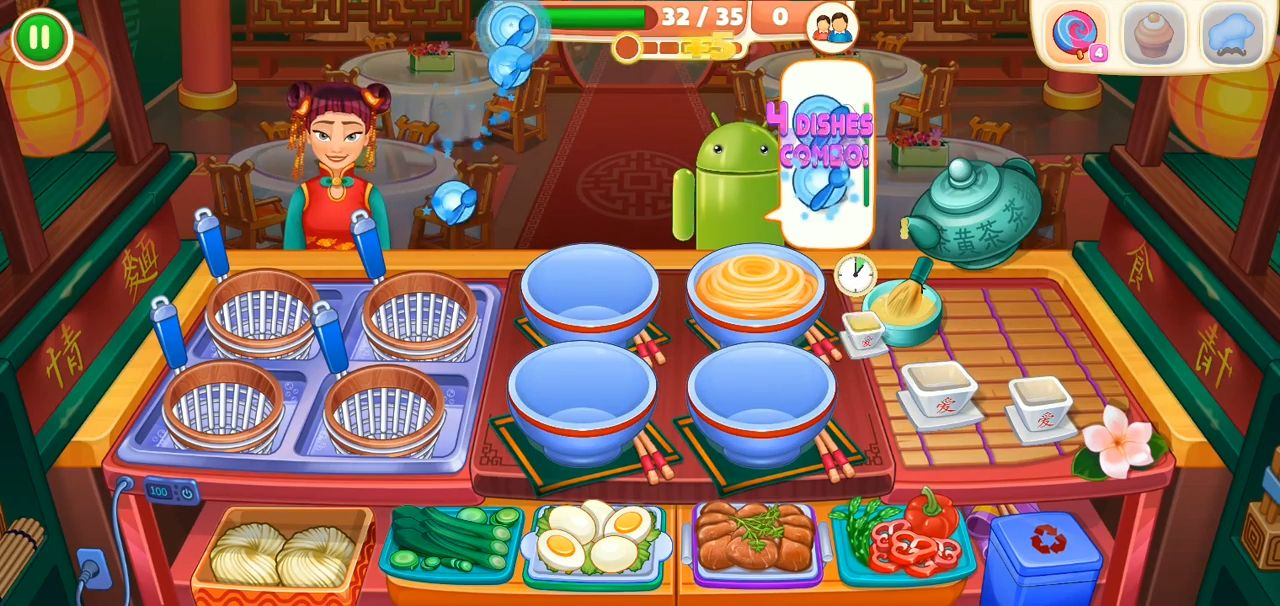 Asian Cooking Star: New Restaurant & Cooking Games para Android