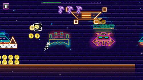 Arcade-Spiele Daft jump für das Smartphone