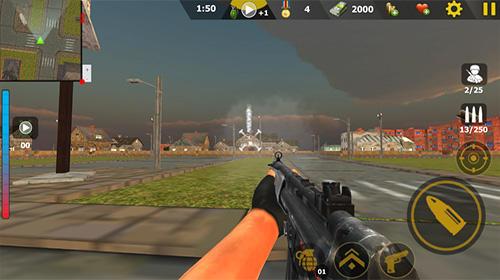 Action Commando sniper attack: Modern gun shooting war für das Smartphone