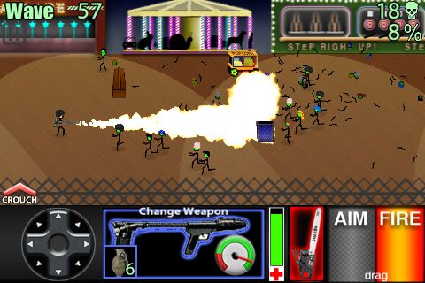 Zombies-palo para iPhone gratis