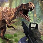 Dinosaur shooter 3D Symbol