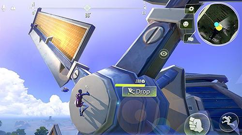 アンドロイド用ゲーム サイバー・ハンター のスクリーンショット