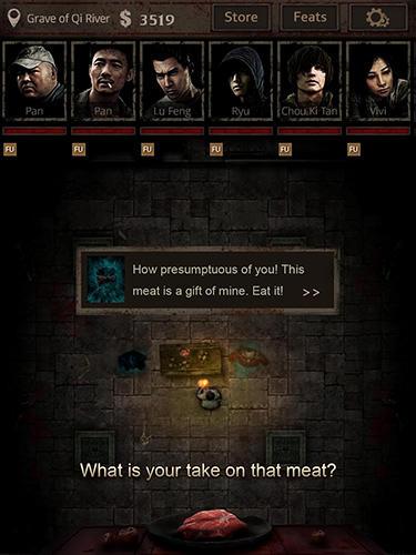 RPG Tomb survivor für das Smartphone