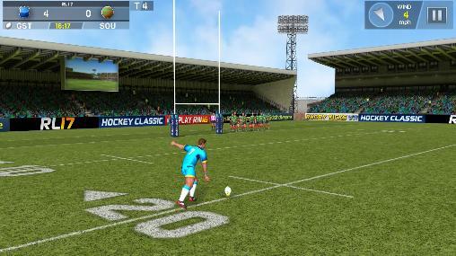 Capturas de tela de Rugby league 17