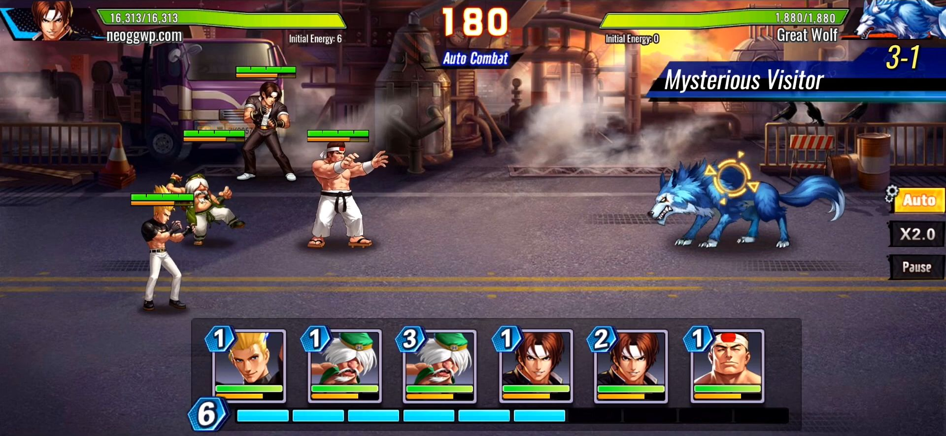 SNK Allstar pour Android