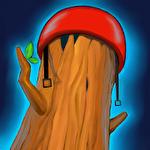 Happy room: Log Symbol