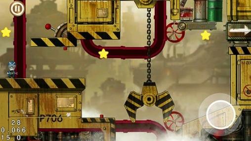 Captura de pantalla El mecanismo a vapor de la ciudad en iPhone