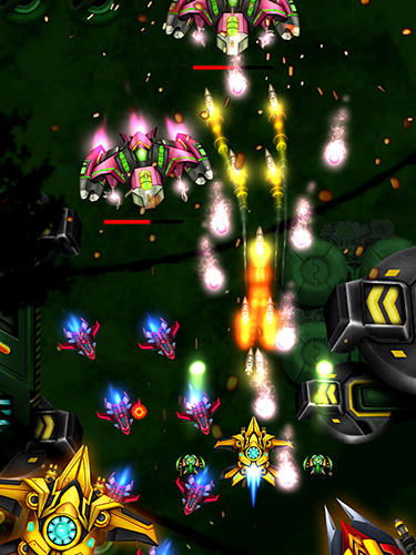 Arcades Air force combat. Shoot'em up pour smartphone