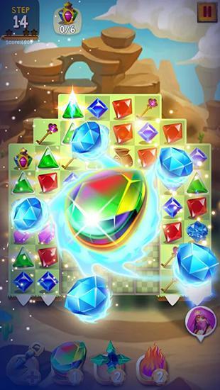Jewels legend deluxe screenshot 2