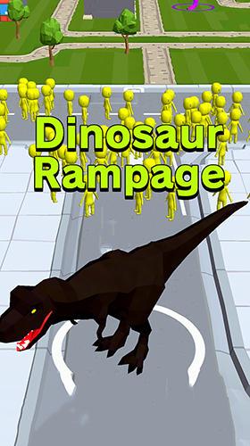 Dinosaur rampage captura de pantalla 1