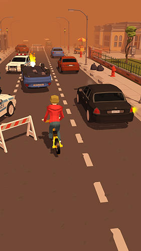 Arcade-Spiele Crazy bike rider für das Smartphone