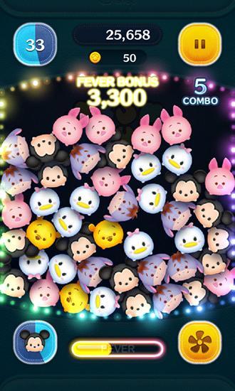 3 Gewinnt-Spiele Disney: Tsum tsum auf Deutsch