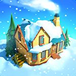 Snow town: Ice village world Symbol