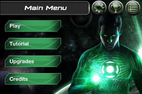 Jogos de arcade: faça o download de O lanterna verde: ascensão dos caçadores de cabeças para o seu telefone