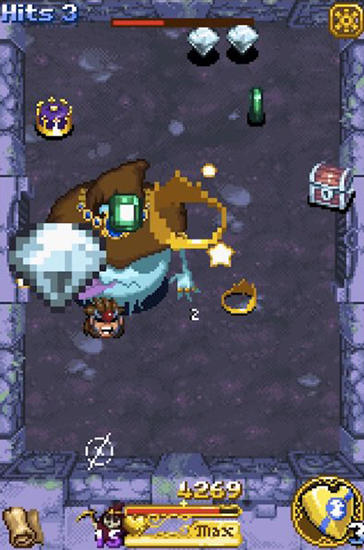 Action RPG Treasure buster auf Deutsch