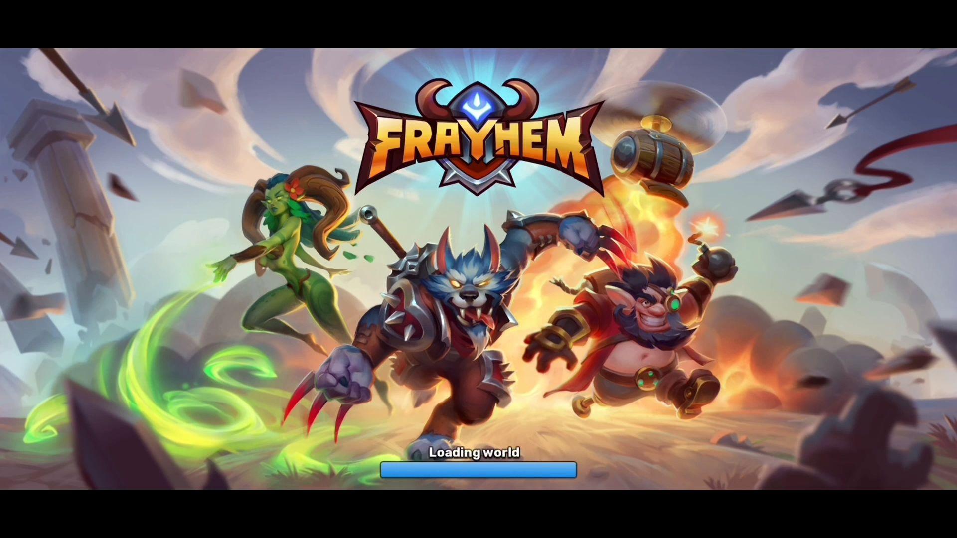 Frayhem - 3v3 Brawl, Battle Royale, MOBA Arena скріншот 1