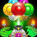 Jungle monkey bubble shooter icône