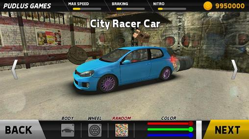 Racing games Hot racer for smartphone