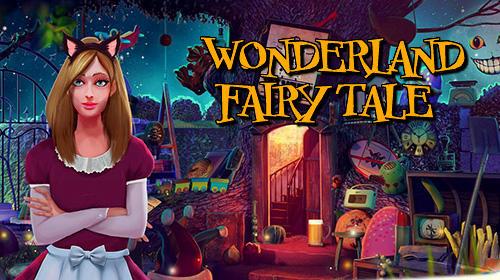 Hidden objects Wonderland: Fairy tale games captura de tela 1