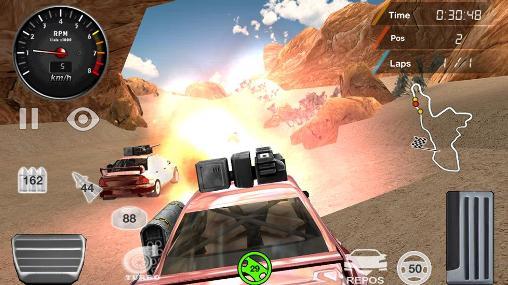 Rennspiele Armored off-road racing für das Smartphone