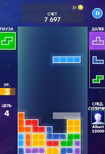 Arcade Tetris for smartphone