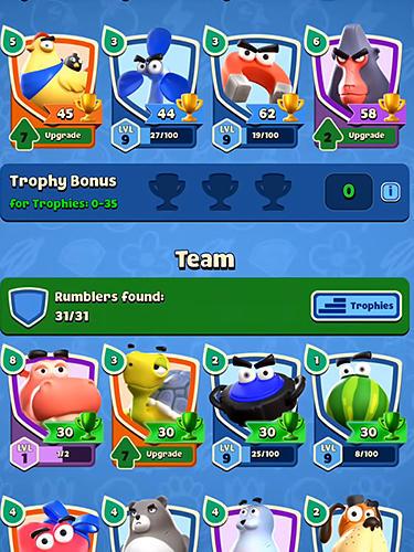 Rumble stars Screenshot