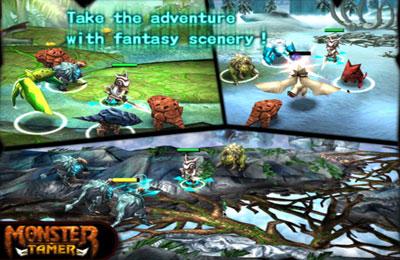 Multiplayerspiele: Lade Monster-Bändiger auf dein Handy herunter