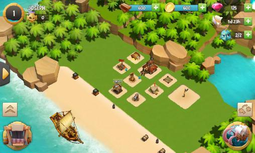 The pirates: Caribbean conflictcapturas de pantalla