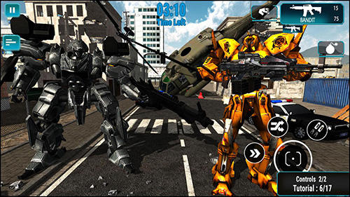 Robot warrior battlefield 2018 para Android