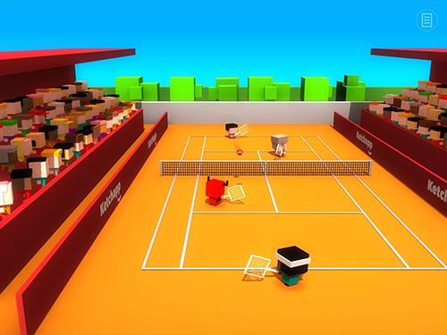 Arcade Ketchapp: Tennis für das Smartphone