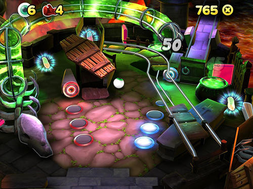 Trolli pinball screenshot 1