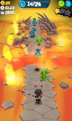 Catcha Catcha Aliens! captura de pantalla 1