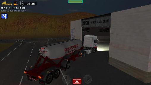 Caminhoneiros Simulador de grande caminhão em portugues