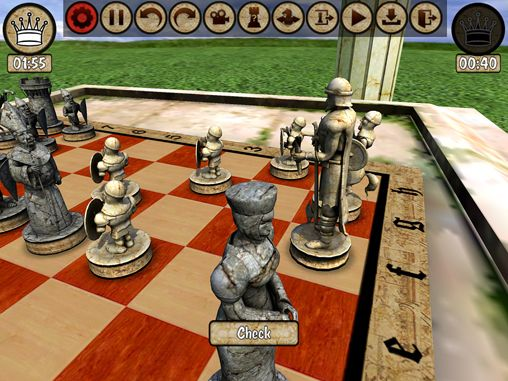 Screenshot Krieger Schach auf dem iPhone