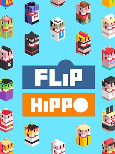 Flip hippo icon