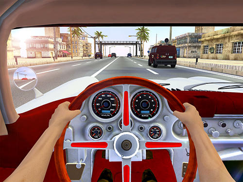 Racing in city 2 auf Deutsch