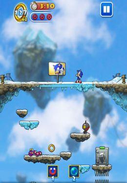 Screenshot Sonic Jump on iPhone
