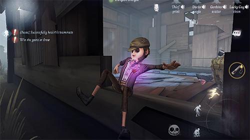 Screenshot Identität V auf dem iPhone
