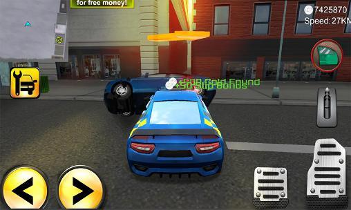 Polizei-Spiele Police agent vs mafia driver auf Deutsch