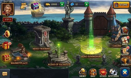 RPG Dungeon rush für das Smartphone