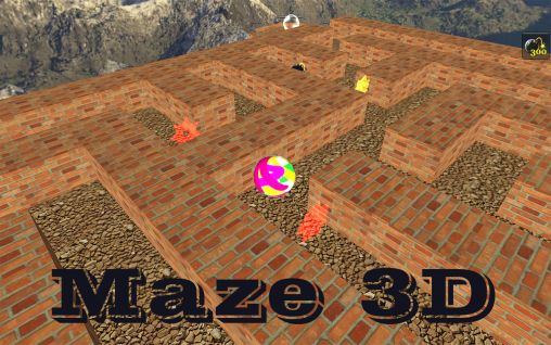 Maze 3D capture d'écran