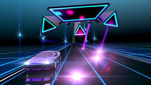 Гонки: скачать Neon drive на телефон