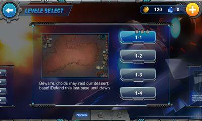 Strategiespiele Galaxy Defense für das Smartphone