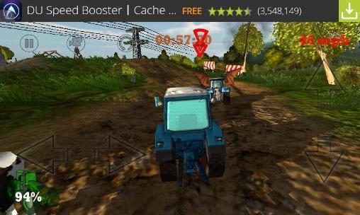 Crazy farm: Racing heroes 3D captura de tela 1