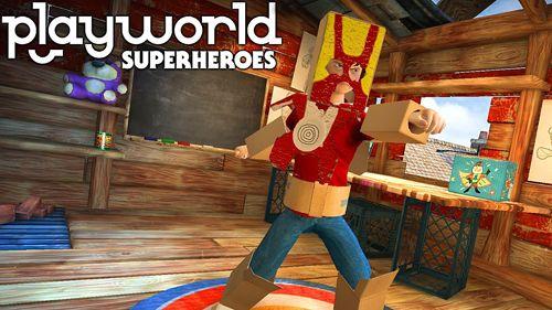 logo Playworld: Superhelden