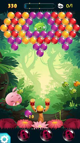 Screenshot Angry birds Stella: Pop on iPhone