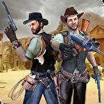 Western cowboy gun shooting fighter open world Symbol