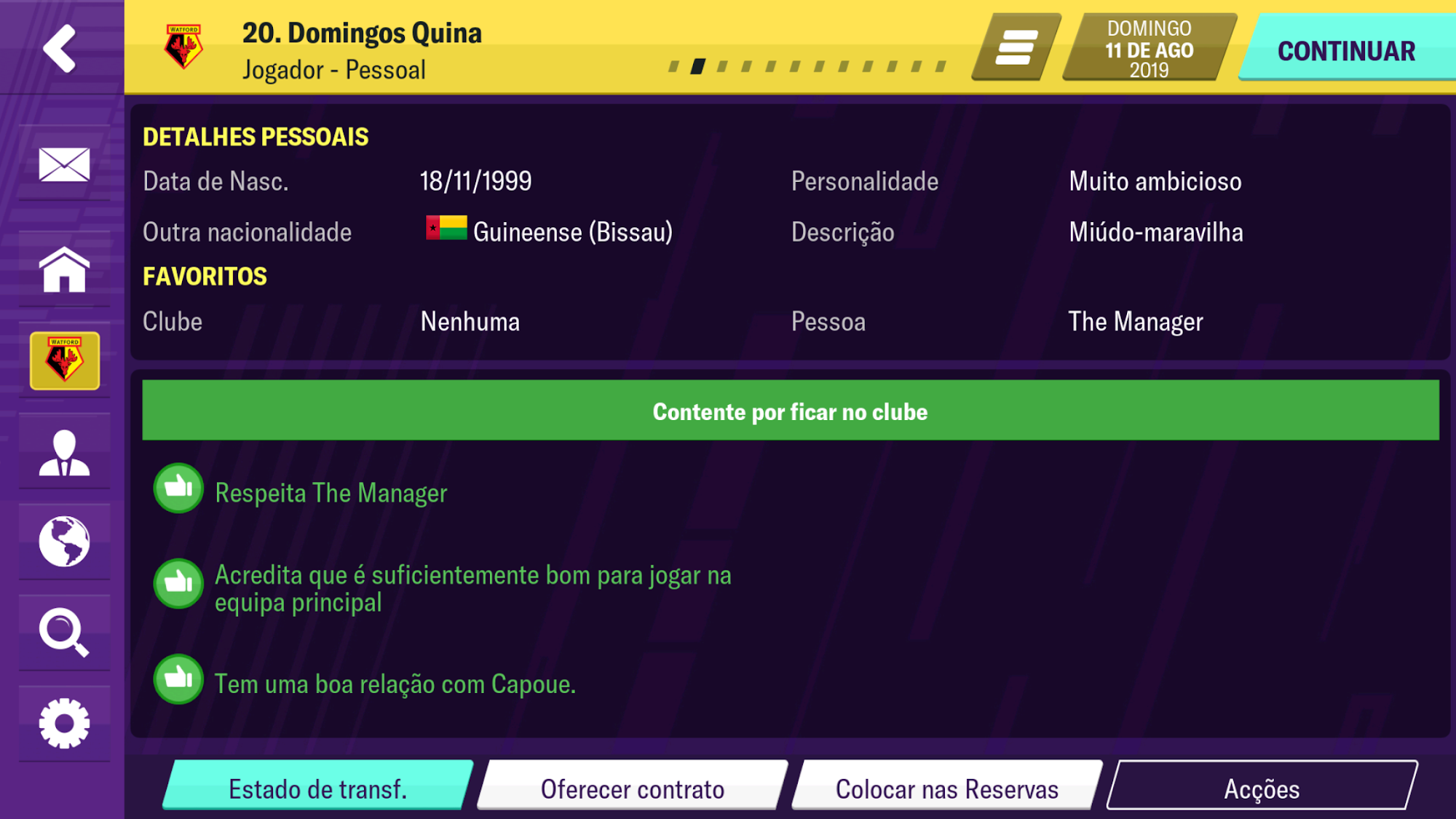 Football Manager 2020 Mobile para Android