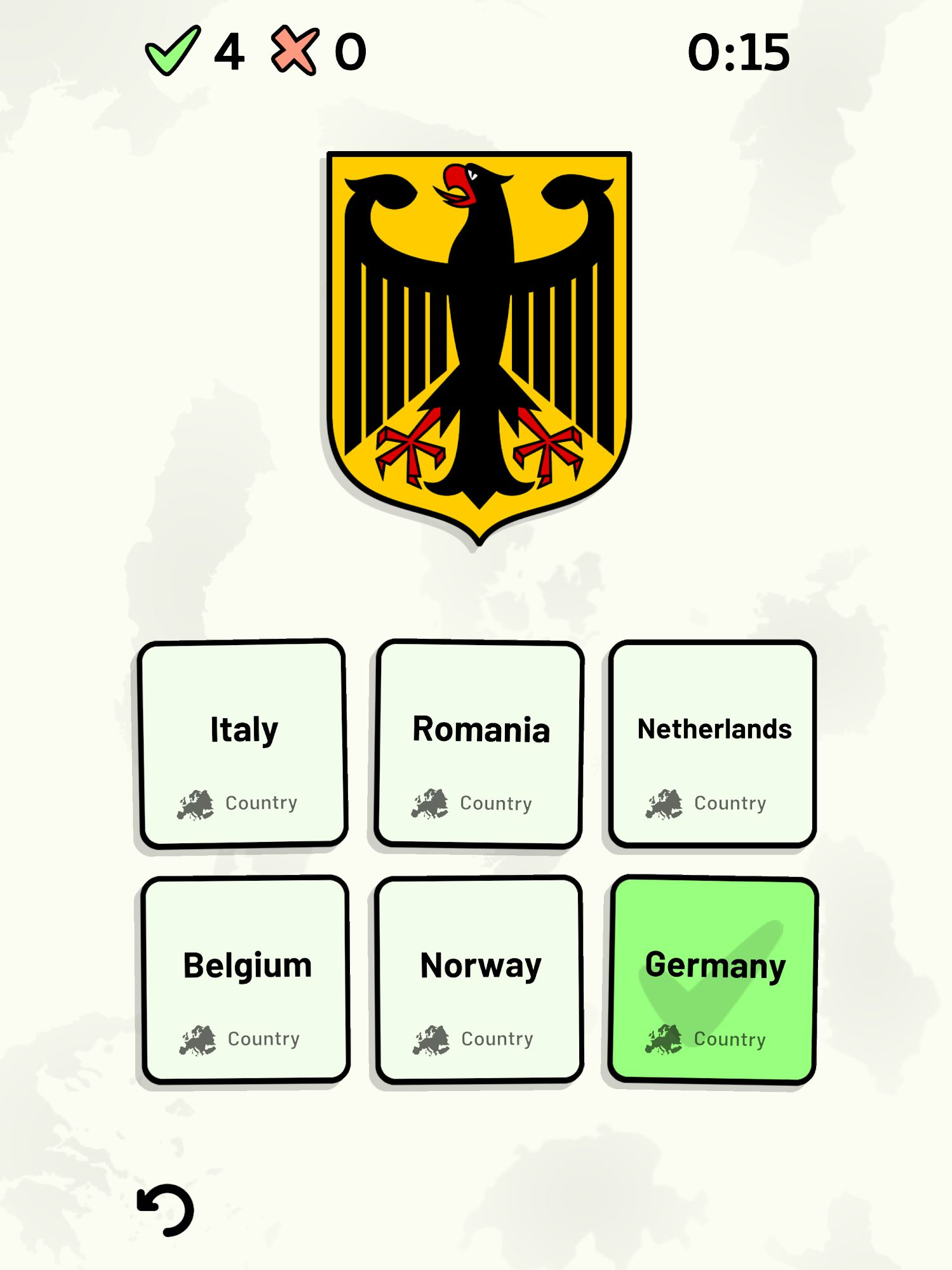 Countries of Europe Quiz - Maps, Capitals, Flags screenshot 1