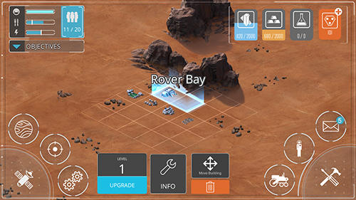 Space frontiers: Dawn of Mars für Android